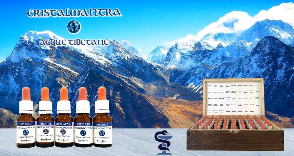 cofanetto di essenze di Acque Tibetane Cristalmantra